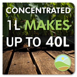 concentrated 1l makes 40l